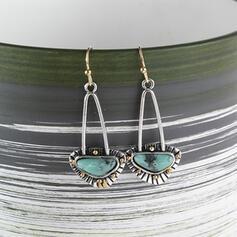 Charming Pretty Artistic Romantic Alloy With Imitation Stones Minimalist Women's Earrings