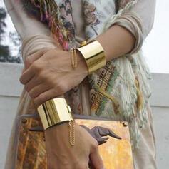 Exotique Boho Alliage Bracelets 2 PCS