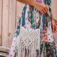Solid Color/Bohemian Style/Braided Crossbody Bags/Beach Bags