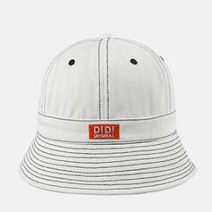 Unisex/Women's Unique/Simple Cotton Bucket Hats