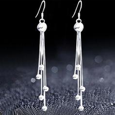 Unique Silver Copper Ladies' Fashion Earrings