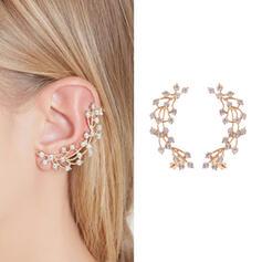 Charming Elegant Delicate Alloy With Rhinestone Women's Ladies' Girl's Earrings