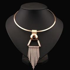 Único Aleación De mujer Collar de la manera (Sold in a single piece)