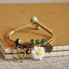 Unique Romantic Ceramic Beads Women's Ladies' Unisex Girl's Bracelets Charm Bracelets Bolo Bracelets