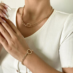 Charming Pretty Delicate Romantic Alloy Women's Ladies' Girl's Necklaces 2 PCS