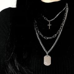 Charming Delicate Alloy With Metal Chain Décor Women's Ladies' Girl's Necklaces