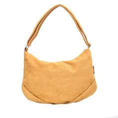 Fashionable/Dumpling Shaped/Solid Color Tote Bags