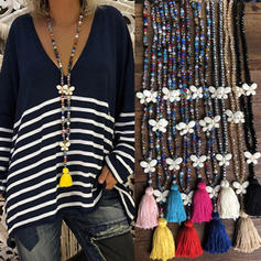 Exquisite Crystal With Tassels Women's Necklaces