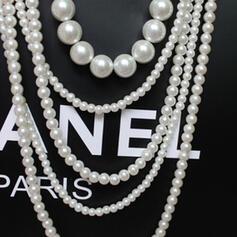 Attrayant Charme Élégante Artistique Délicat Alliage Femmes Dames Colliers