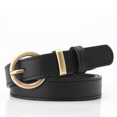 Women's Classic/Elegant/Simple/Simple Buckle Faux Leather Belts