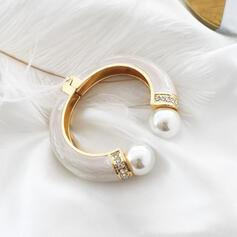 À la mode Alliage De faux pearl avec Strass Femmes Dames Bracelets