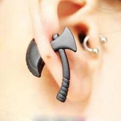 Attrayant Charme Élégante Artistique Délicat Alliage Femmes Dames Unisexe Boucles d'oreilles