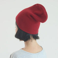 Ladies'/Men's/Unisex/Women's Classic/Simple Cotton/Fabric Beanie/Slouchy