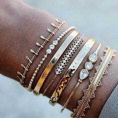 Unique Romantique Alliage Femmes Dames Fille de Bracelets 7 PCS