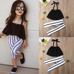 2-pieces Baby Girl Striped Set