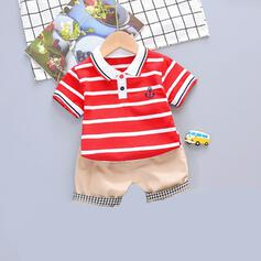 2-pieces Baby Boy Striped Cotton Set