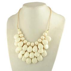 Vintage Boho Elegant Artistic Alloy With Beads Women's Necklaces