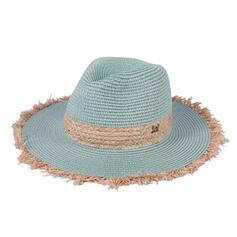 Ladies' Beautiful/Classic/Elegant Raffia With Rhinestone Straw Hats