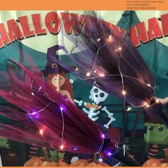 Lovely Horrifying Cartoon Halloween Polyester Halloween Props
