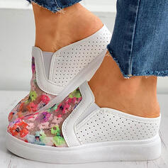 Women's Mesh Flat Heel Flats Low Top With Hollow-out shoes