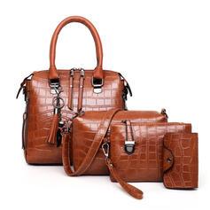 Fashionable/Lichee Pattern Bag Sets