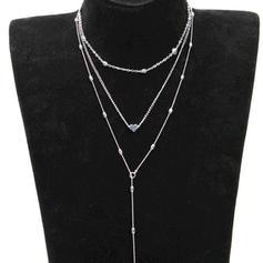 Gorgeous Alloy Women's Necklaces