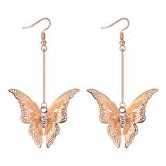Unique Alloy Copper Women's Earrings