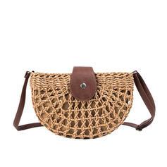 Delicate/Dumpling Shaped/Vintga/Bohemian Style/Braided Crossbody Bags/Shoulder Bags/Beach Bags/Bucket Bags/Hobo Bags