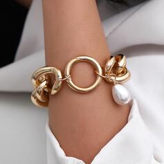À la mode Sexy Ancien Style Classique Alliage avec Perle d'imitation Femmes Dames Bracelets 1 pc