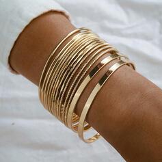 Simple Delicado Sin hebilla Aleación con Minimalista De mujer Señoras' Unisex Bracelets De Charme Bracelets Bolo