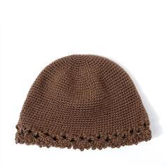 De mujer Glamorosa/Encanto/Estilo de la vendimia Algodón con Lino Disquete Sombrero