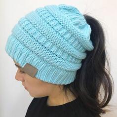 De mujer Hermoso/Elegante/Simple/Estilo de la vendimia Tejido Sombrero de fieltro