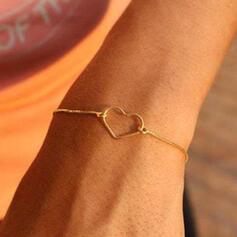Heart Valentine's Day Alloy Ladies' Girl's Bracelets Beach Jewelry