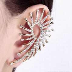 Attrayant Charme Élégante Artistique Délicat Alliage Femmes Dames Boucles d'oreilles