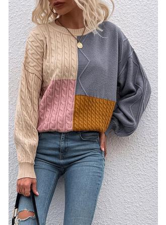 Gola Redonda Vintage Suéteres