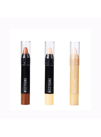 3-color Shimmer Highlight & Bronze Concealer With Box
