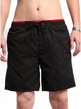 Men's Floral Board Shorts Swimsuit
