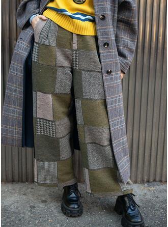 Color Block Vintage Lounge Pants