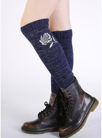 Crochet Cálido Calcetines 1 PC
