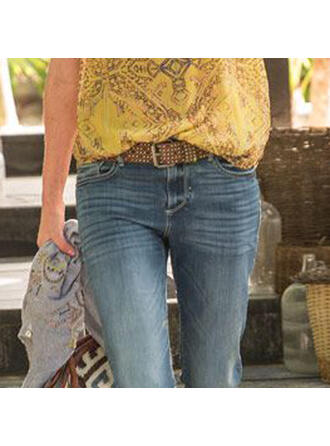 Fashionable Alloy PU Women's Belts