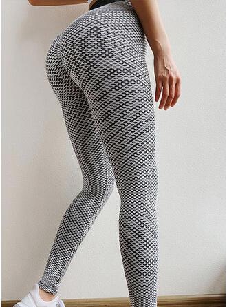 Patchwork Mesh Yoga Stretchy Leggings