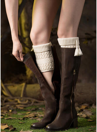 Solid Color Comfortable/Women's/Leg Warmers/Boot Cuff Socks Socks