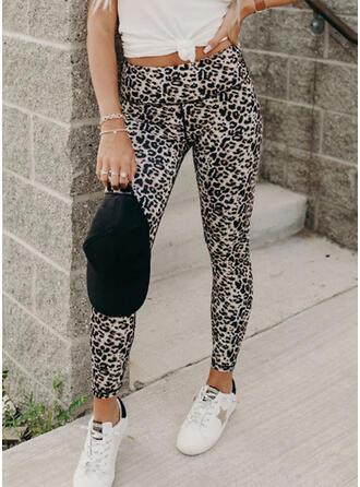 Print Leopard Sexy Skinny Leggings