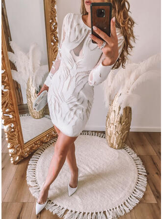 Long Sleeves Bodycon Mini Party Dresses