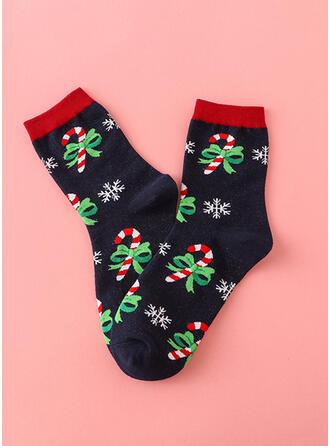 Estilo de Natal attractive/moda/Respirável/Confortável/Natal Peúgas