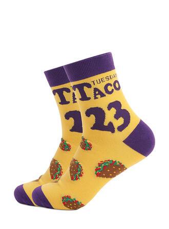 Letter Comfortable/Women's/Simple Style Socks