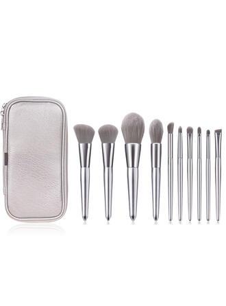 10 PCS Shell Design Handle Makeup brush sets