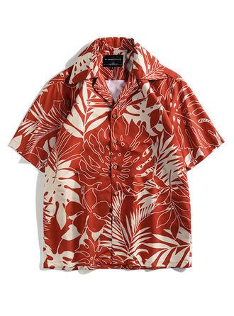 Men's Hawaiian Beach Shirts