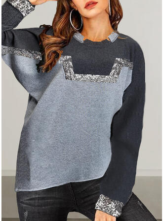 Round Neck Long Sleeves