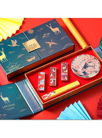 2-color Classic Paper Plastic Lipsticks BB & CC Cream With Box
